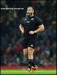 Joe MOODY - New Zealand - International caps for the All Blacks.