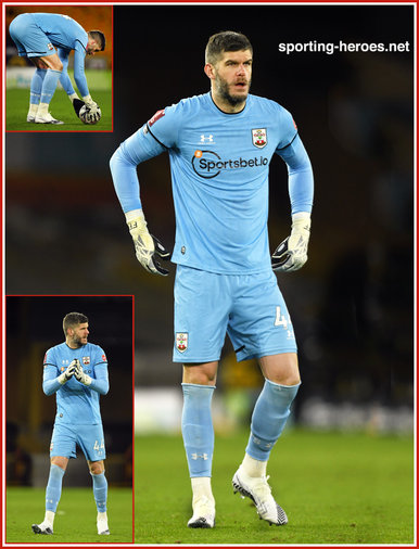 Fraser Forster - Southampton FC - Premiership Appearances
