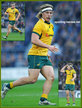 Michael HOOPER - Australia - International rugby union caps for Australia.