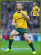 Rob HORNE - Australia - International rugby union caps for Australia.