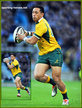 Christian LEALI'IFANO - Australia - International rugby union caps for Australia.
