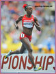 Alysia JOHNSON-MONTANO - U.S.A. - 4th. place at 2013 World Athletics Championships in 2013.