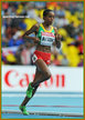 Almaz AYANA - Ethiopia - 5000m Bronze medal at 2013 World Athletics Championships.