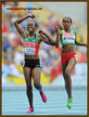 Mercy CHERONO - Kenya - Silver medal at 2013 World Championships in 5000m.