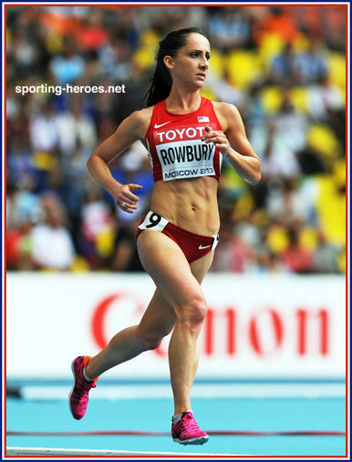 Shannon Rowbury - U.S.A. - 7th in women's 5000m final at 2013 World Championships.