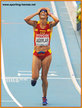 Alessandra AGUILAR - Spain - 5th. in women's marathon at 2013 World Championships
