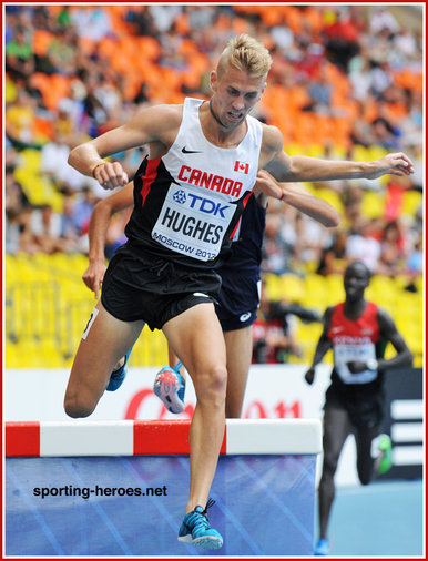 Matthew HUGHES - Canada - Sixth at 2013 World Championships in steeplechase.