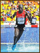 Paul Kipsiele KOECH - Kenya - 4th. in steeplechase at 2013 World Championships.