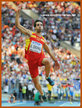Eusebio CACERES - Spain - 4th. at 2013 World Athletics Champions.