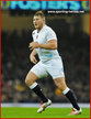 Dylan HARTLEY - England - International rugby union caps for England X.