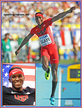 Will CLAYE - U.S.A. - Season best & bronze medal at 2013 World Championships.