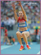 Olga KUCHERENKO - Russia - Fifth place in Moscow at 2013 World Championships.