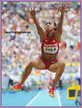 Tori POLK - U.S.A. - Long jump finalist at 2013 World Championships.