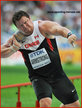 Dylan ARMSTRONG - Canada - World Athletic Championships shot put medalist.
