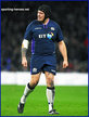 Fraser BROWN - Scotland - International Rugby Union Caps for Scotland.
