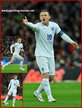 Wayne ROONEY - England - 2016 European Football Championships qualifying matches.