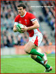 Jamie ROBERTS - Wales - International rugby union caps for Wales 2008 - 2011