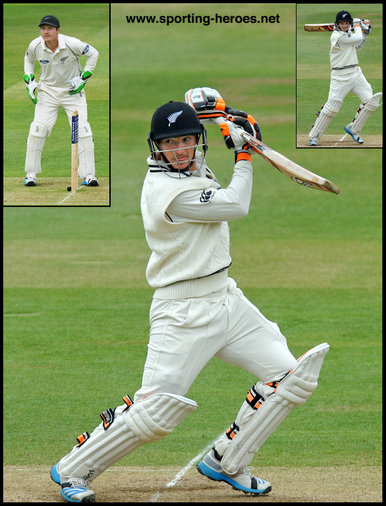 B.J. WATLING - New Zealand - Test matches 2014 onwards.