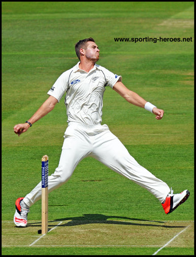 Tim Southee - New Zealand - Test Record 2014 onwards.