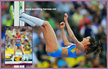 Anna CHICHEROVA - Russia - Bronze medal in high jump at 2013 World Championships.