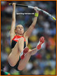 Lisa RYZIH - Germany - Finalist in pole vault at 2013 World Championship.