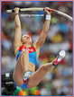Anastasia SAVCHENKO - Russia - 6th. in pole vault at 2013 World Championships in Russia.