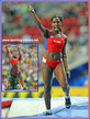 Yarisley SILVA - Cuba - Bronze medal in pole vault at 2013 World Championship.