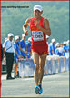 Ding CHEN - China - Silver medal in 20k walk at 2013 World Championships.
