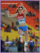 Ekaterina KONEVA - Russia - Silver medal at 2013 World Championships in triple jump.