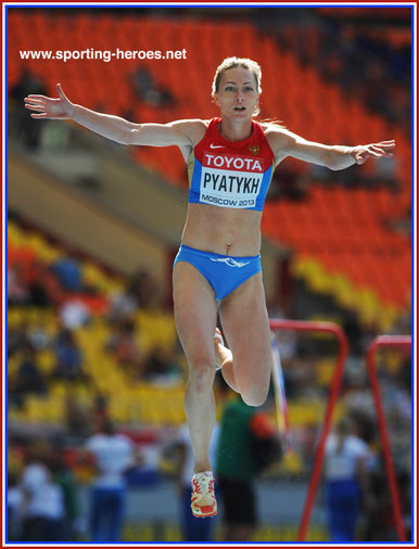 Anna Pyatykh - Russia - Seventh at 2013 World Championships in Moscow