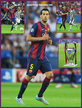 Sergio BUSQUETS - Barcelona - 2015 EUFA Champions League Final.