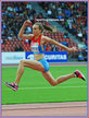 Irina GUMENYUK - Russia - Third in 2014 European Athletics Championship in Zurich.