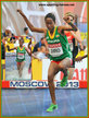 Etenesh DIRO - Ethiopia - Fifth in 2013 World Championship steeplechase.