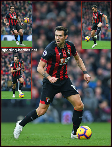 Charlie DANIELS - Bournemouth - League Appearances