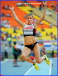 Brianne THEISEN-EATON - Canada - 2013 silver medal World Champs: bronze medal 2016 Olympics.