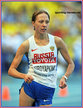 Anisya KIRDYAPKINA - Russia - 2nd.in 20k race walk at 2013 World Championships.