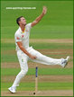 Josh HAZELWOOD - Australia - International Test cricket career.
