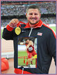 Joseph KOVACS - U.S.A. - 2015 World Championship shot put gold medal