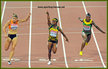 Shelly-Ann FRASER-PRYCE - Jamaica - 2015 and another 100m  World Championship gold medal