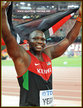 Julius YEGO - Kenya - 2015 World men's javelin champion.
