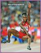 Tianna BARTOLETTA - U.S.A. - World long jump champion again, in 2015