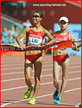 Liu HONG - China - Winner of 20k race walk at 2015 World Championships.