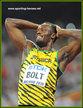 Usain BOLT - Jamaica - Third Gold for the Jamaican at 2015 World Championships