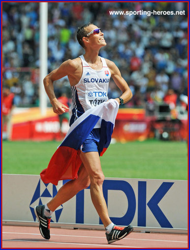 Matej TOTH - Slovakia - 2015 World & 2016 Olympic Games 50k race walk champion.