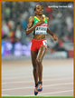 Almaz AYANA - Ethiopia - Winner of 5,000m at 2015 World Championships in China.