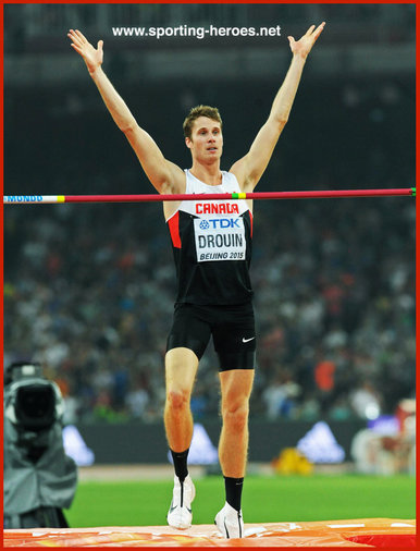 Derek DROUIN - Canada - 2015 World high jump champion & Olympic Gold in Rio 2016