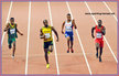 Justin GATLIN - U.S.A. - Second silver medal at 2015 World Championships