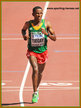 Yemane TSEGAY - Ethiopia - Silver medal in marathon at 2015 World Championships in Beijing.