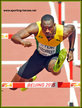 Hansle PARCHMENT - Jamaica - Silver medal at 2015 World Championships 110m hurdles.