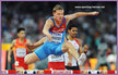 Denis KUDRYAVTSEV - Russia - Silver medal in 400m hurdles at 2015 World Championships.